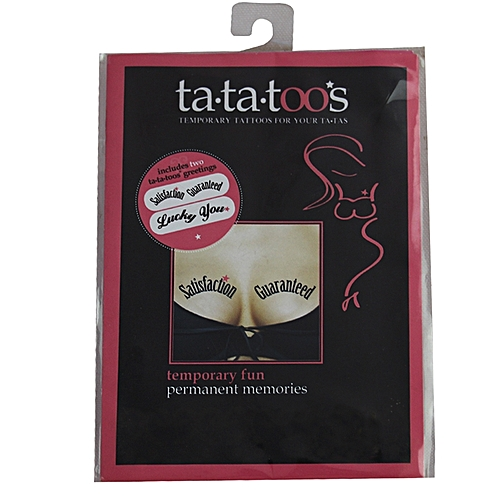 Naughty Bachelorette - Tattoos