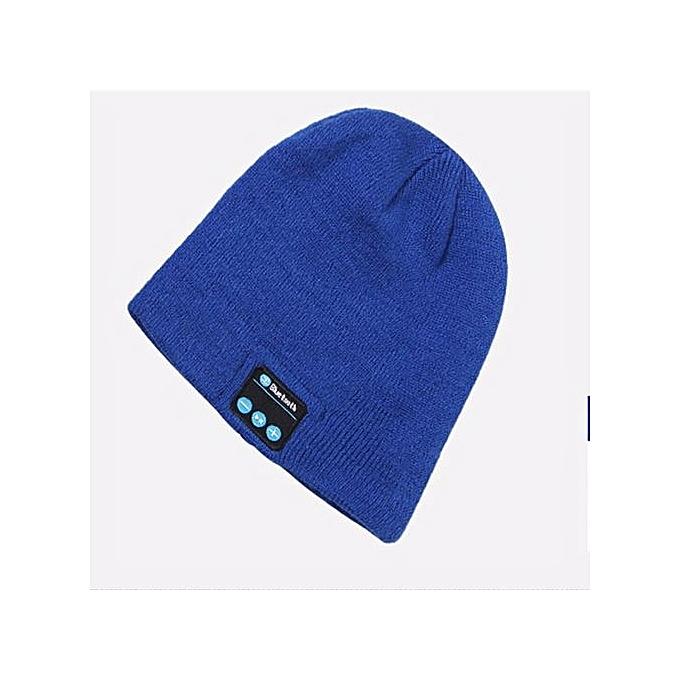 a45b0ffecf9 ... Wireless Bluetooth Headphones Music Hat Smart Caps Headset Earphone  Warm Beanies Winter Hats With Speaker Mic