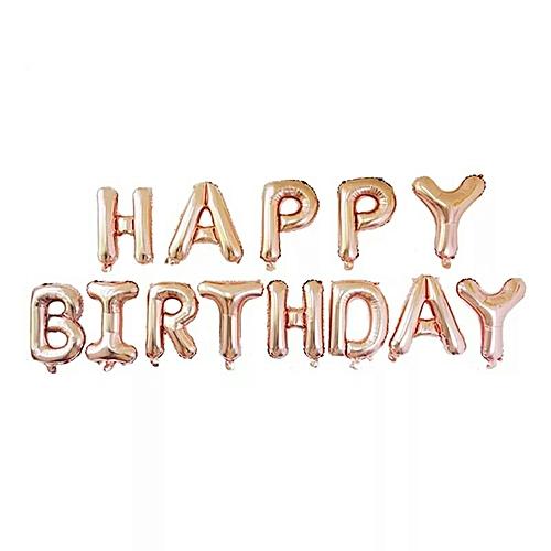 White Label Happy Birthday Balloon