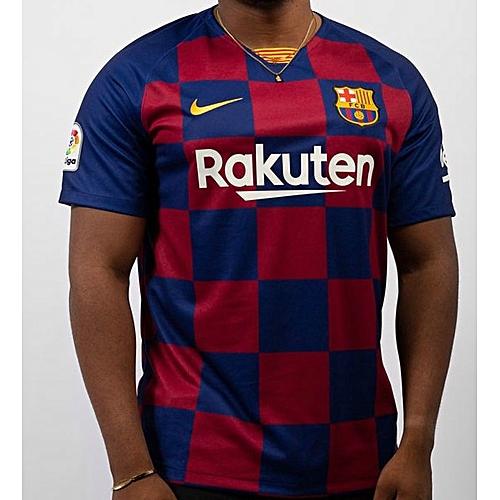 best wholesaler 79409 b7913 Buy Nike Barcelona Home Jersey 2019/2020 - Blue/Red online ...