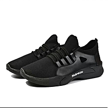990d1cd5e70fc6 Low-Top Lace Up Sneakers - Black