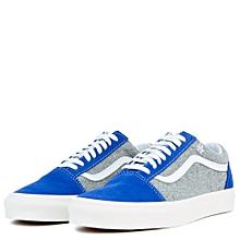 eea51f5257d7f7 Old Skool Dodgers Plimsolls - Blue Grey
