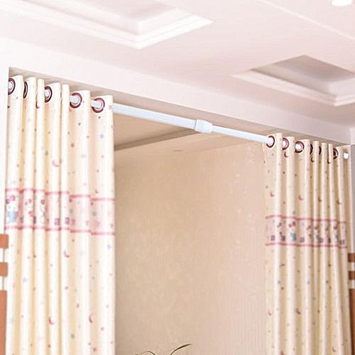 2e2f0e2a936 Generic Extendable Shower Curtain Rail Rod - White. By Generic