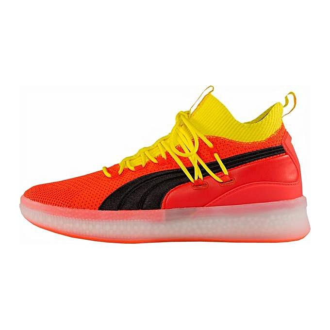 detailed look d15fa 521bb Clyde Court Low Top Sneakers - Red/Yellow