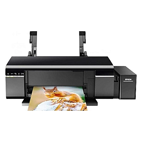 Epson L805 Colour Inkjet Wireless Printer Black Jumia Ghana