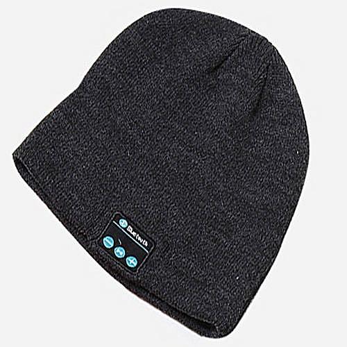 8cd442f1bbd Generic Wireless Bluetooth Headphones Music Hat Smart Caps Headset Earphone  Warm Beanies Winter Hats With Speaker Mic For Sports