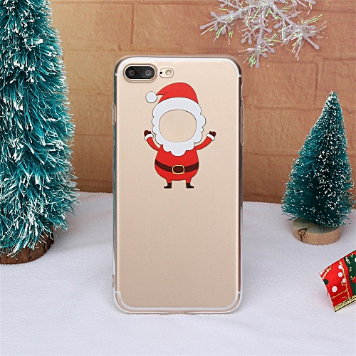 Christmas Phone Case Iphone 7.Christmas Phone Case Xmas Tpu Ultra Thin Cover For Iphone 7 Plus 8 Plus 5 5 Inch
