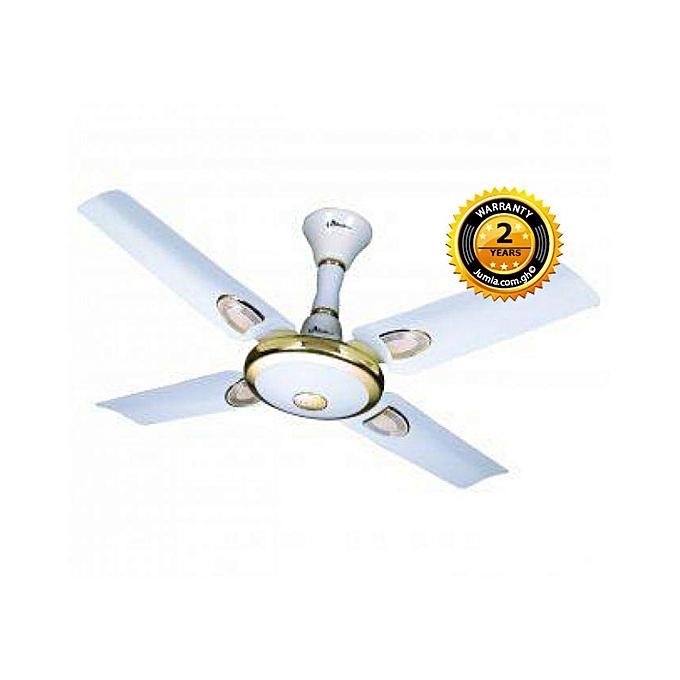 Cf 3650 Ceiling Fan 36 White