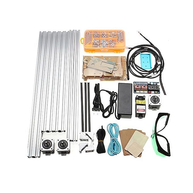 【Flash Deal】2500MW Desktop DIY Laser Engraver Engraving Machine Picture CNC  Printer DIY