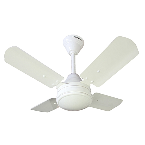 High Speed Outdoor Ceiling Fans: Crompton High Speed Ceiling Fan - Opal White