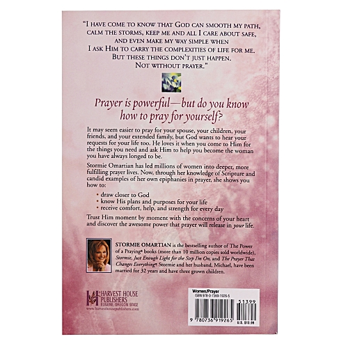 Buy Harvest Books The Power of a Praying Woman online | Jumia Ghana