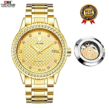 [100% Genuine] TEVISE New 2107 Top Brand Busiiness Watches Men Luxury Famous Male