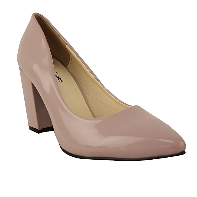 41d0b5926933 Plus Size Shoes Pointed Toe Heel Shoes - Light Pink