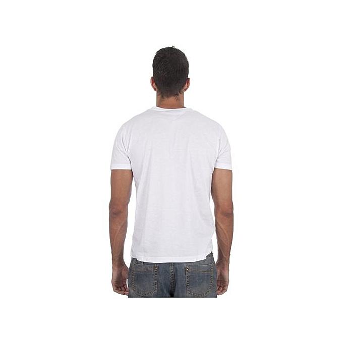 e0b508237997 FASHION Thrasher Men s Funny Print Round Neck T-Shirt - White ...
