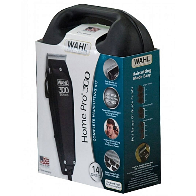 best haircutting kit buy wahl home pro 300 complete haircutting kit black 3932