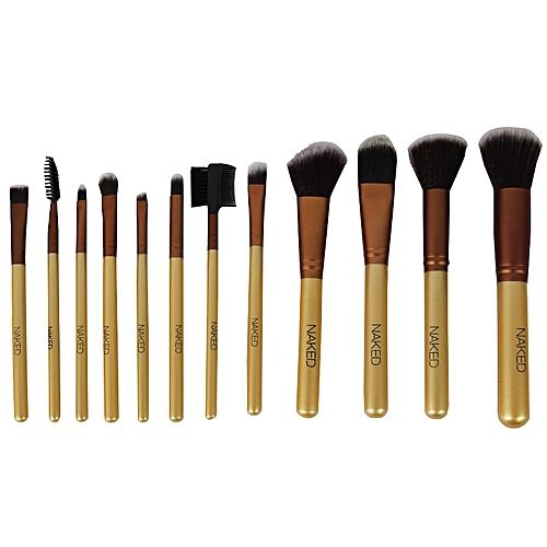 Make-Up Brush Set - 12 Pieces