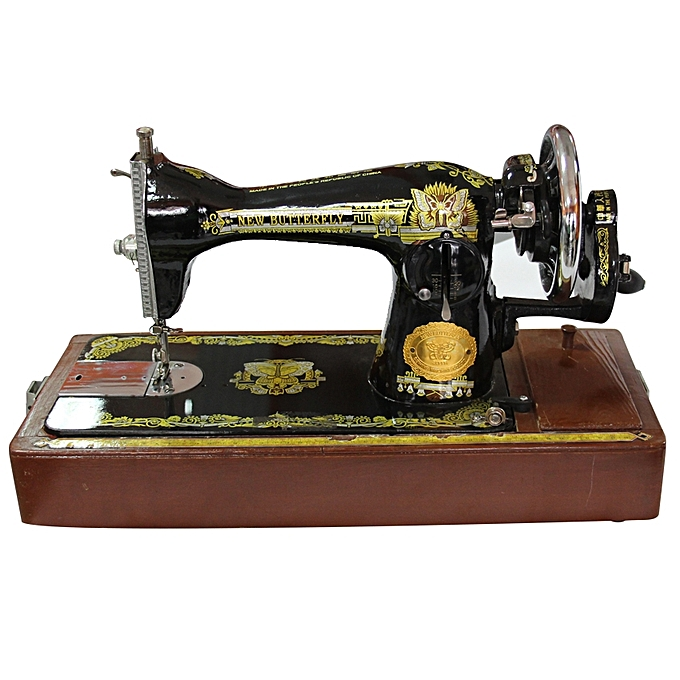 This is a graphic of Nifty Sewing Machine With Label