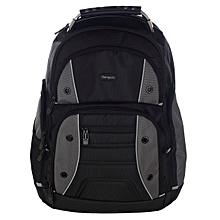 TSB84404EU Drifter 17.3 quot  Laptop Backpack - Black Grey 7a09946b64