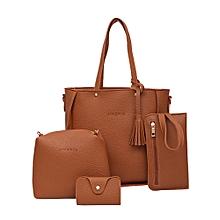 6e870ccd95a Xiuxingzi  Four Set Handbag Shoulder Bags Four Pieces Tote Bag Crossbody  Wallet Bags BW