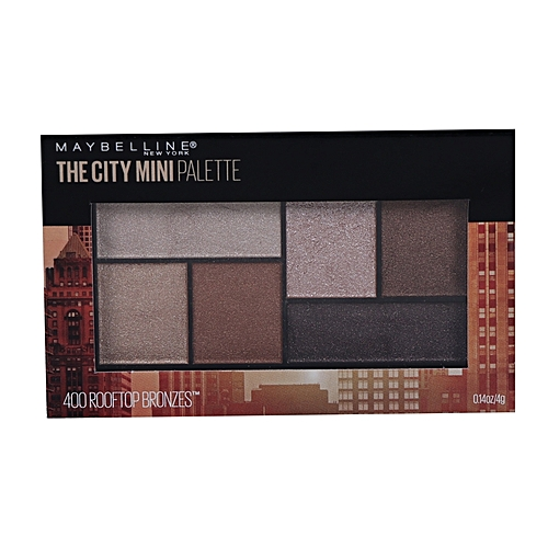 The City Mini Eyeshadow Palette - 400 Rooftop Bronzes