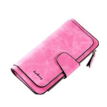 Multifunctional Leather Purse - Pink