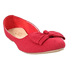 ccff191399b Ballerina Flat Shoes - Red Wine