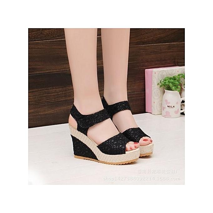 48e5065020508 Women s Shoes Suitable   Comfortable Shiningstar.n Elegant Sandals Women  Wedges Shoes Fashion Platform High
