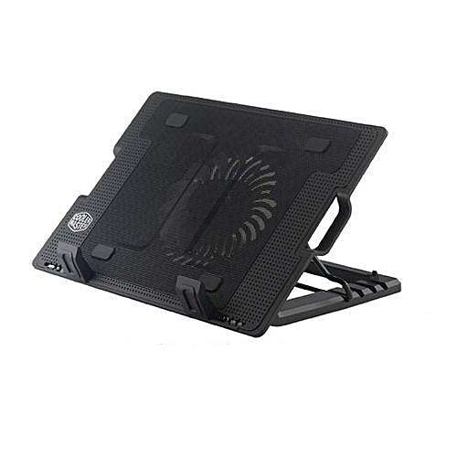f984928a9fd Cooler Master NotePal Ergostand Laptop Cooling Pad with Adjustable Stand -  Black