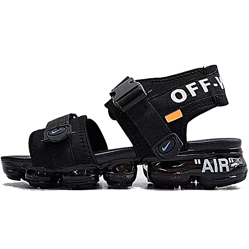 2fb563cccc Buy Nike Air Vapormax Double Strap Sandals - Black online | Jumia Ghana