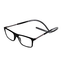 e22f626215 250 Degreee Reading Men Women Magnet Hanging Neck Reading Glasses Adjustable  Leg Magnetic Front Presbyopic Glasses