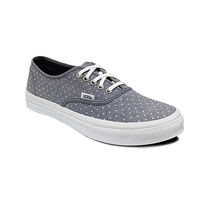 Vans Polka Dot Lace Up Plimsolls Grey White Jumia Ghana