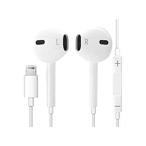 Apple EarPods With Lightning Connector - White  1c59b772e5a9a