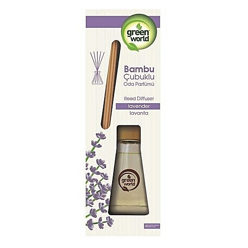 Green World Air Freshener With Bamboo Sticks Lavender 75ml Jumia