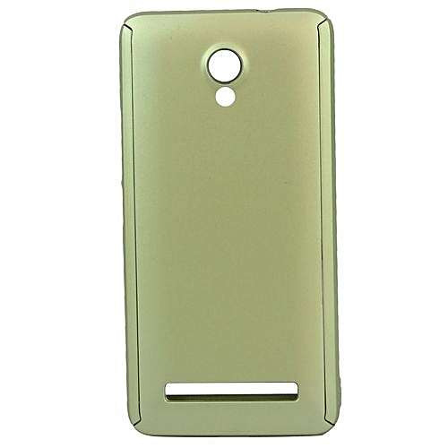 Buy White Label 360 Cover Case for Tecno W4 - Gold online