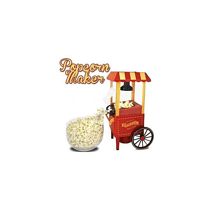 Buy White Label Mini Popcorn Machine - Red online | Jumia ...