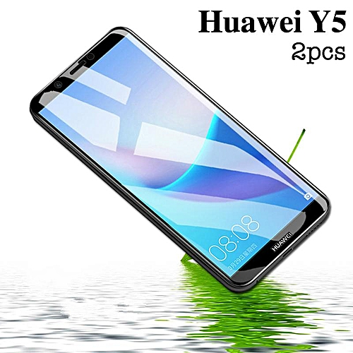 Buy Generic For Huawei Y5 2018 Glass Screen Protector 3D Full Cover