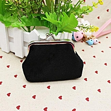 6534f4547875 Xiuxingzi  Womens Corduroy Small Wallet Holder Coin Purse Clutch Handbag  Bag BK