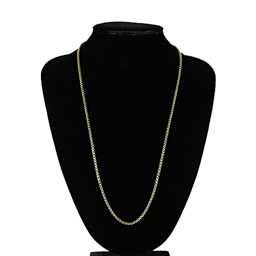 Stainless Steel Necklace - Gold