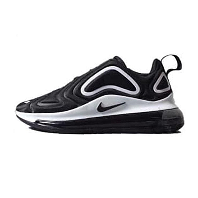 Nike Air Max 720 Low Top Sneakers - Black White  daccbb095