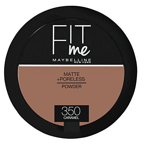 Fit Me Matte And Poreless Powder - 350 Caramel