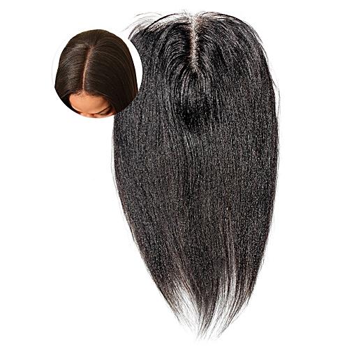 4x4 Lace Closure Indian Virgin Human Hair - 8'' - Natural Black