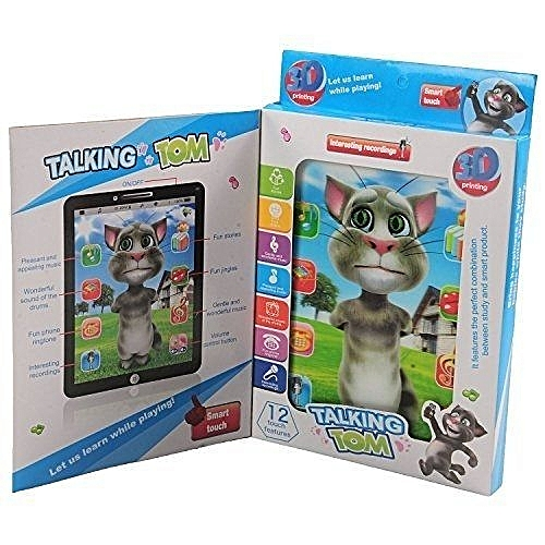 7d67916ca5525 White Label Talking Tom Interactive Kids Learning Tablet