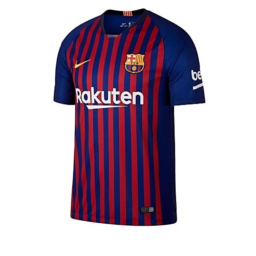 307cbf8ac Nike 2018 19 Barcelona Home Jersey - Red Blue