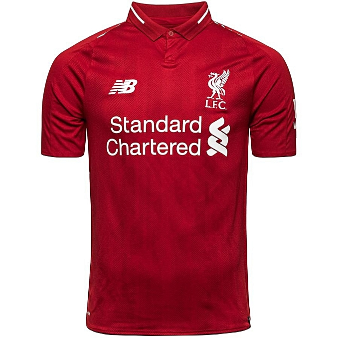 the latest f37fb 3c22c 2018/2019 Liverpool Home Jersey - Red