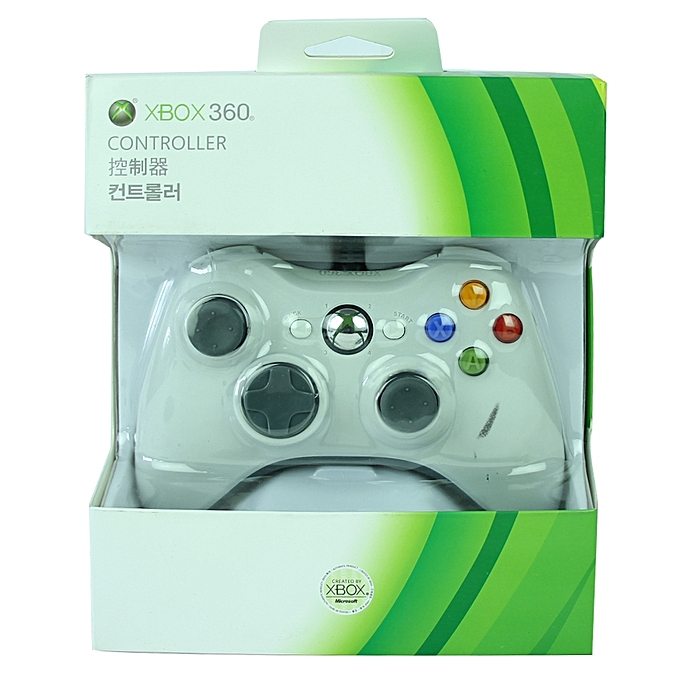 Buy Microsoft Xbox 360 Wired Controller - White @ Best Price Online ...
