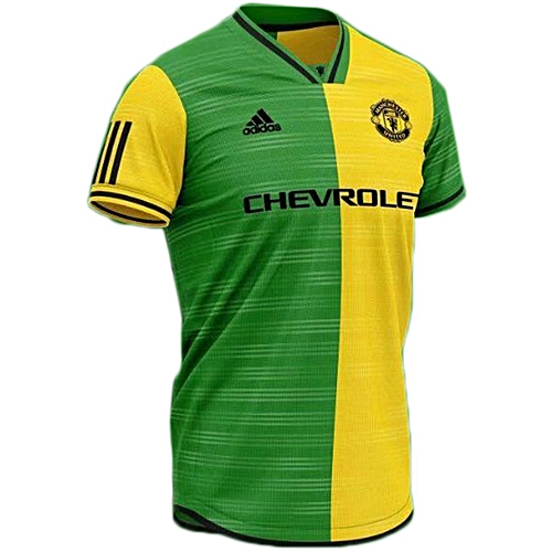 new products 854e6 8129c Buy Adidas Manchester United Away Jersey 2019/2020 - Yellow ...
