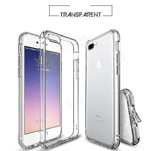 separation shoes 4db20 2baa8 Buy White Label Back Cover For IPhone 7 Plus Clear with Dust Cap ...