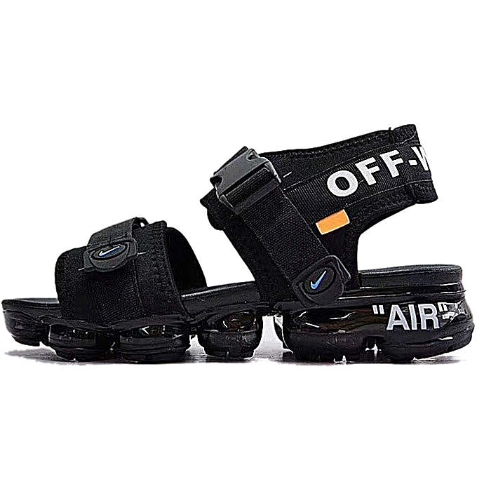 b93ad2c33a1e Nike Air Vapormax Double Strap Sandals - Black