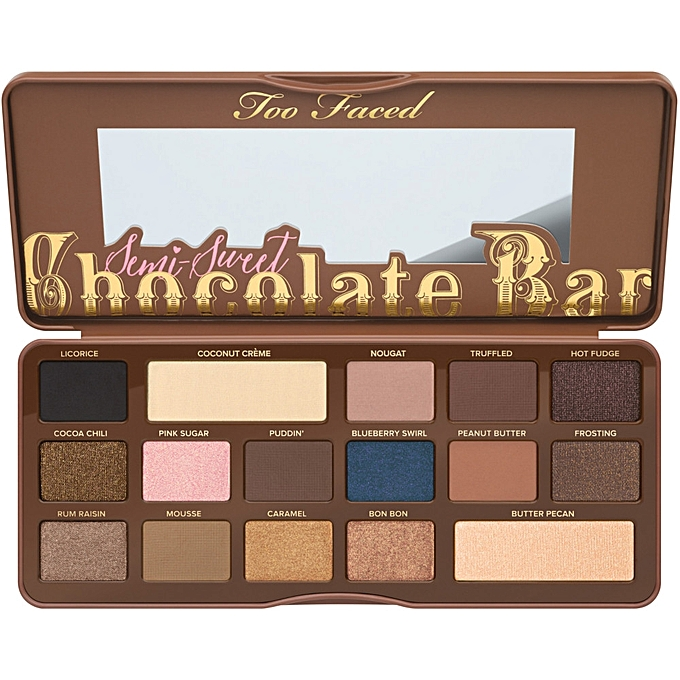 Golds Gym Treadmill Burning Smell: Too Faced Semi Sweet Chocolate Bar Eyeshadow Palette