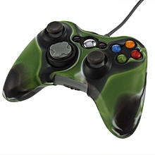 Silicone Cover Joystick Gel Skin Soft Protective Case For Xbox 360 Wireless Controller-Green